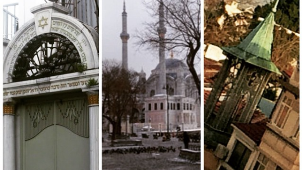Different Religions in Ortakoy